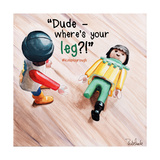 Where's Your Leg 2