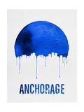 Anchorage Skyline Blue