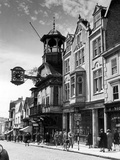 Guildford High Street  Surrey  Circa 1950