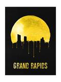 Grand Rapids Skyline Yellow