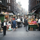 Rupert Street in Soho  London 1966