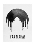 Taj Mahal Landmark White