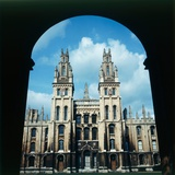View of All Souls College in Oxford  1973