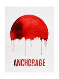 Anchorage Skyline Red