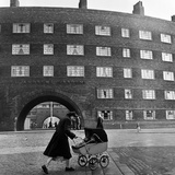 Young Mother in Liverpool  1954