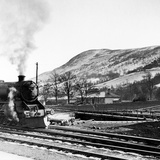 Steam Train Leaving Blair Atholl  1947