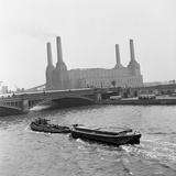 Battersea Power Station  1954
