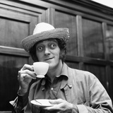 Zany Comedian Marty Feldman at the Lime Grove Studios 1969