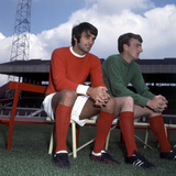 George Best Manchester United Football Player August 1969