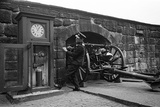Time Gun at Edinburgh Castle 1945
