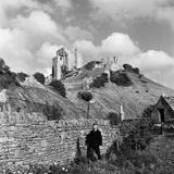 Corfe Castle  1952