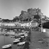 Gorey Harbour  Channel Islands 1965