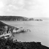 Moulin Huet Bay and Jerbourg Point on the Island of Guernsey 1965
