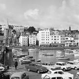 St Peter Port Harbour on the Island of Guernsey 1965