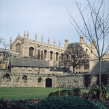 A view of Christ College in Oxford January 1972