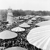 Easter Fair  Hampstead Heath  1952