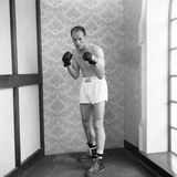 Henry Cooper Seen Here in Training at Bellingham 1963
