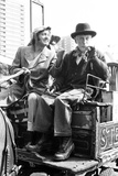 Steptoe and Son Actors Enjoy a Pint after Filming  1974