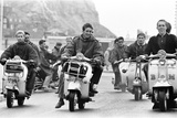 Mods in Hastings  August 1964