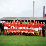 Manchester United Team Group  28th July 1964