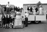 Daleks Being Transported to the Cannes Film Festival  1965