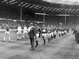 Manchester United and Leicester City  1963