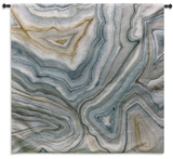 Agate Abstract II Wall Tapestry - Small