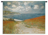 Path Through the Corn at Pourville  c1882 Wall Tapestry