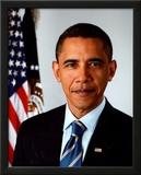 Barack Obama 2009 Official Portrait