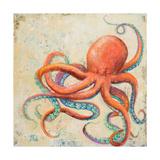 Creatures of the Ocean II Giclée premium par Patricia Pinto