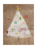 Christmas Joy on Burlap II