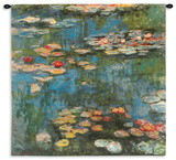 Water Lilies (Nymph)  c1916 Wall Tapestry - Large