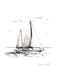 Coastal Boat Sketch II