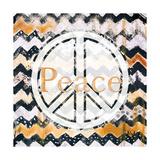 Love and Peace Square II Giclée premium par Patricia Quintero-Pinto