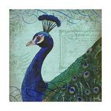 Parisian Peacock II Reproduction d'art par Elizabeth Medley