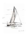 Coastal Boat Sketch I