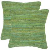 Rachel Pillow Pair - Glorious Green