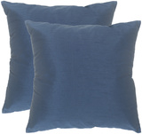Luster Pillow Pair - Sapphire