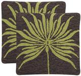 Leslie Verte Woven Pillow Pair