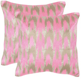 Modern Dazzle Pillow Pair - Pink *