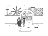 """We were not amused"" - New Yorker Cartoon"