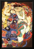 Gustav Klimt Virgin Art Print Poster Affiche plastifiée encadrée par Gustav Klimt