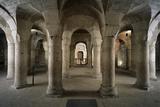 Ab 1001  Blick in Die Rotunde  Dijon  Abteikirche St-B