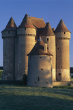 Sarzay Chateau  Pepperpot Turrets  Berry