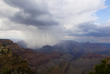 A Rainstorm in the Grand Canyon  Arizona
