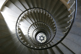 Staircase Inside Tower of a Lighthouse Built in 1854  Isle De Re