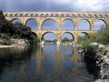 Pont Du Gard Near Remoulins  Roman Aqueduct - Languedoc  France