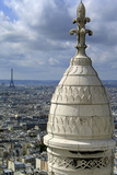 France Paris Sacre Coeur Montmartre Eiffel Tower