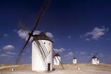 Campo De Criptana  Windmills - New Castile  Spain