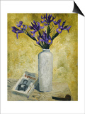 Irises in a Tall Vase  1928
